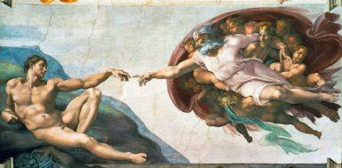 Die Erschaffung des Adam - © Erich Lessing/Expotainment